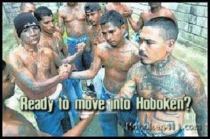 This meme dated from 2008. It has not affect MS-13's spread within the US.